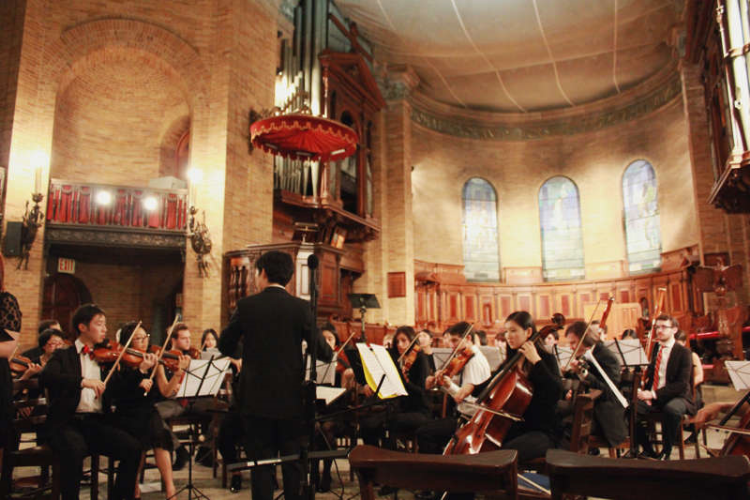 Columbia Bach Society, directed by Kevin Lee