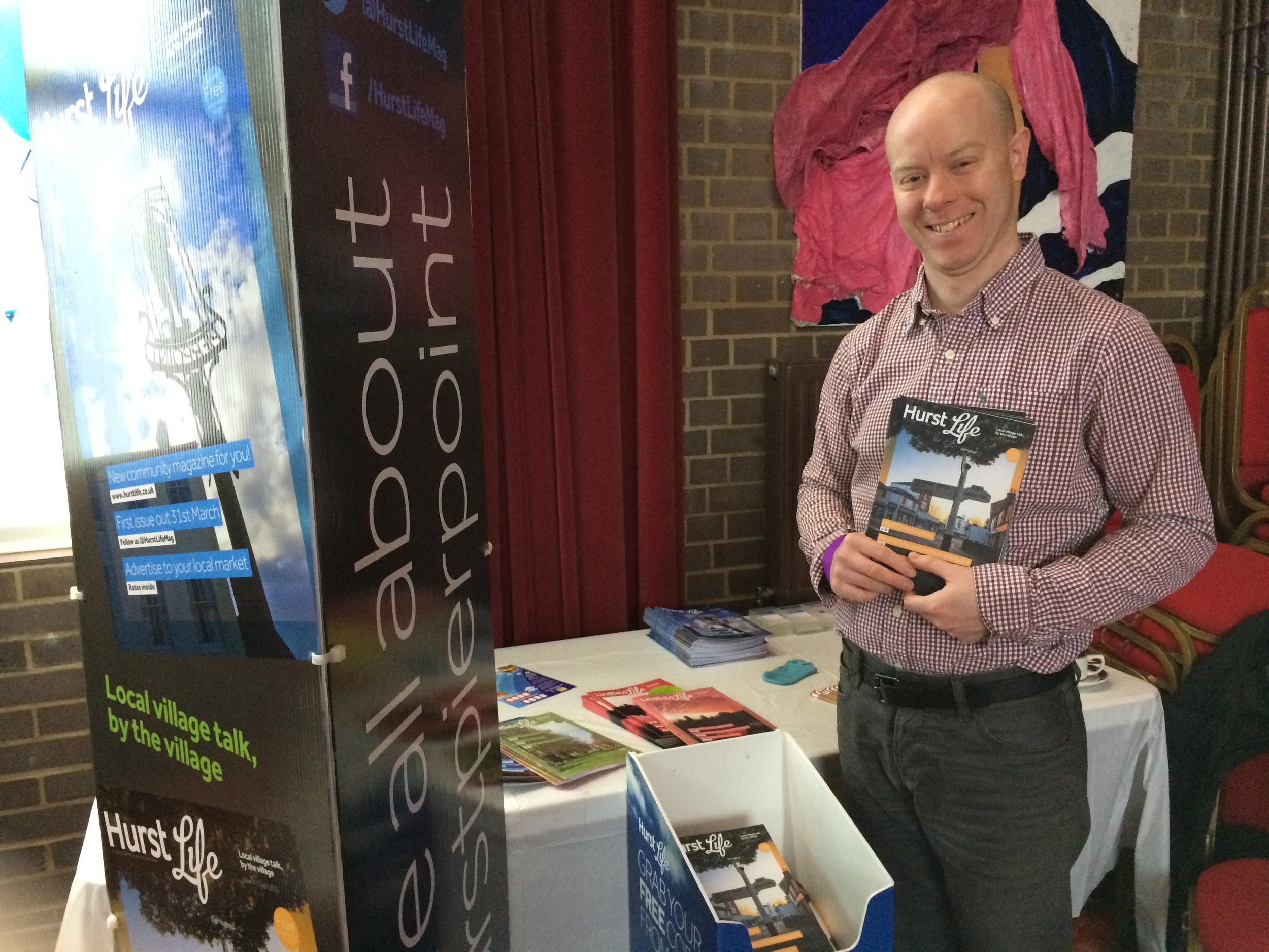 Hurst Life Magazine launches at Sussex Pages event