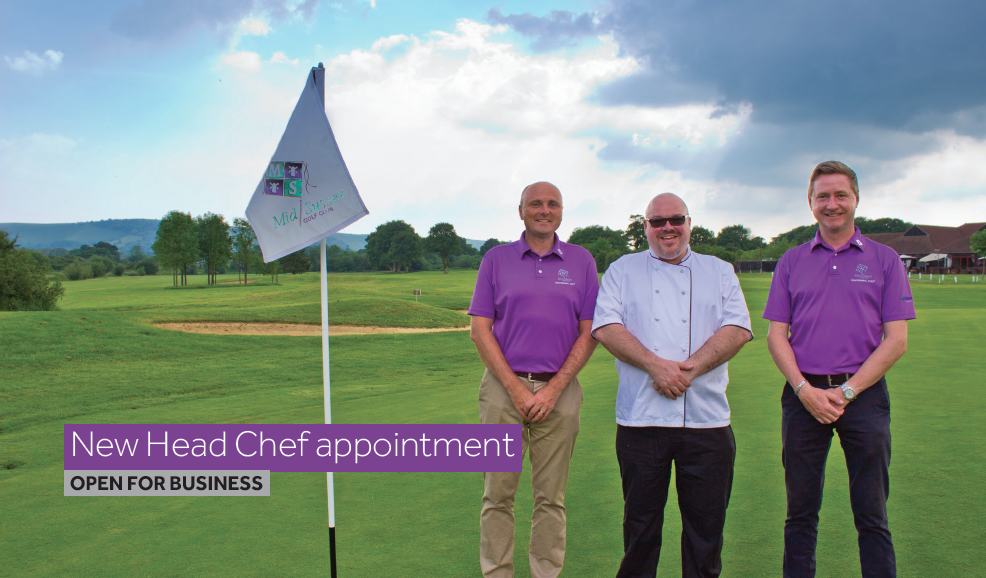 Mid Sussex Golf Club Peter Howard chef