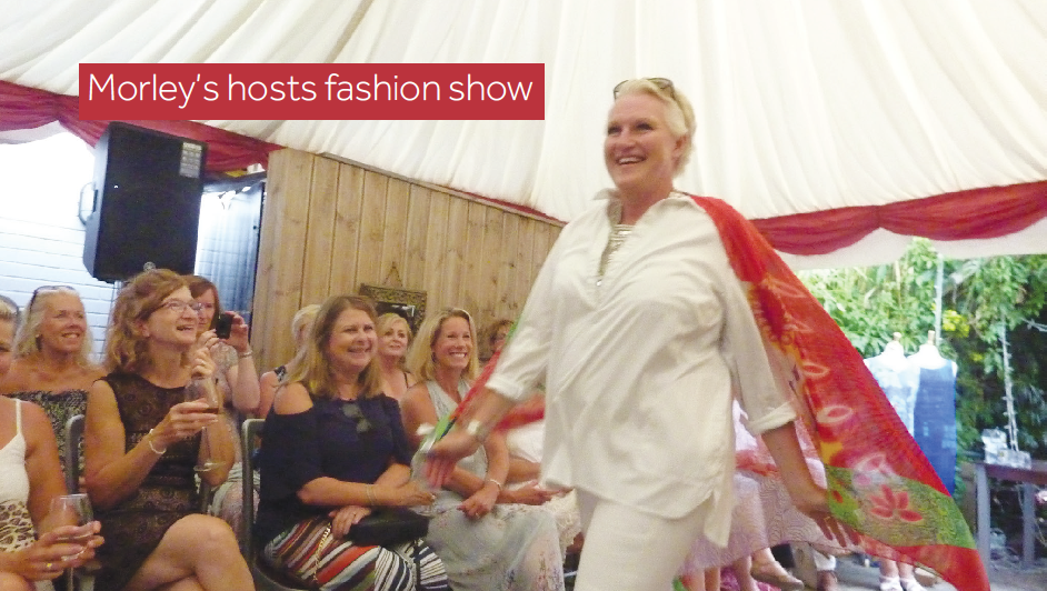 Hurstpierpoint Traders organise a successful charity Fashion Show in June.