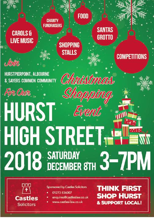 High Street Community Event in Hurstpierpoint