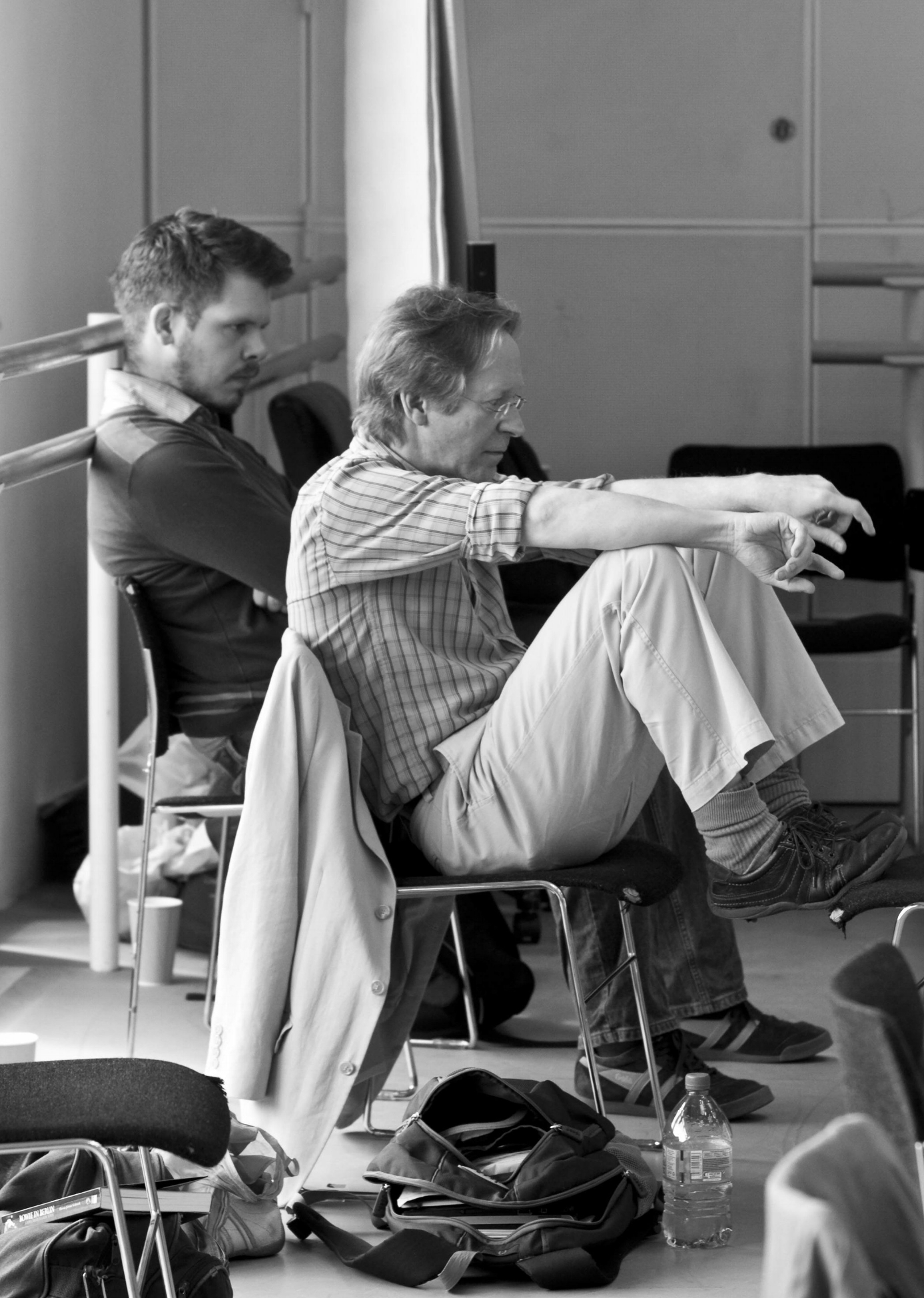 """In rehearsals for """"The Screams of Kitty Genovese"""" at the ROH"""