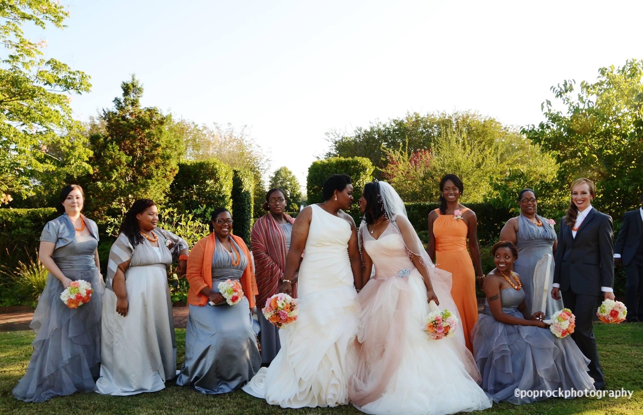 same sex wedding ceremony and photography north carolina