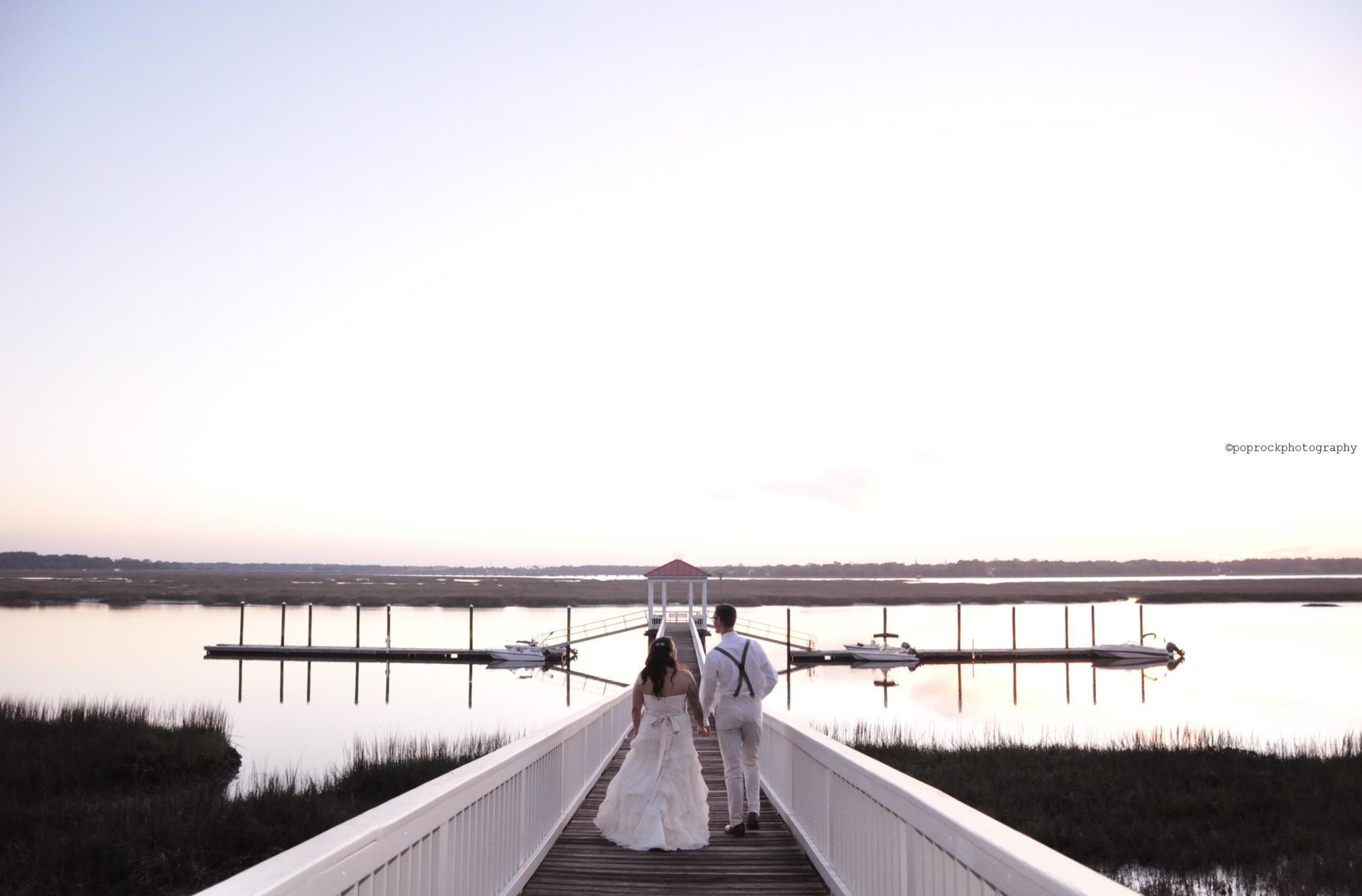 Coastal wedding photography NC