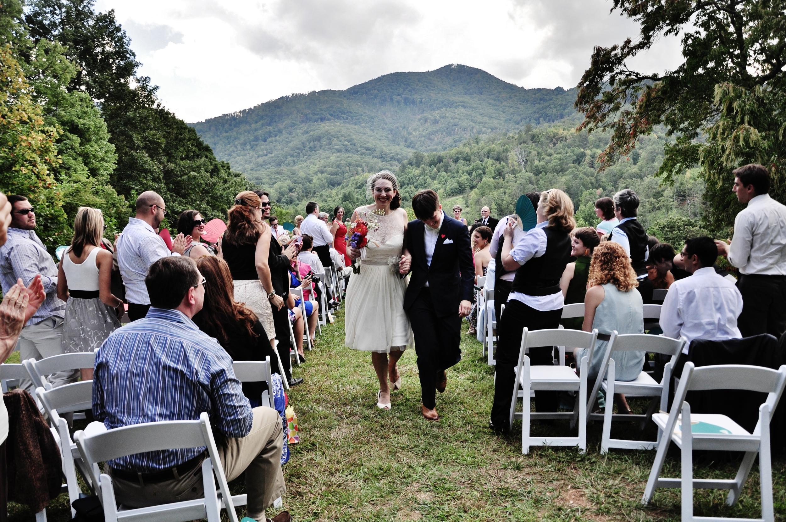 Queer Wedding Ceremony North Carolina Photography