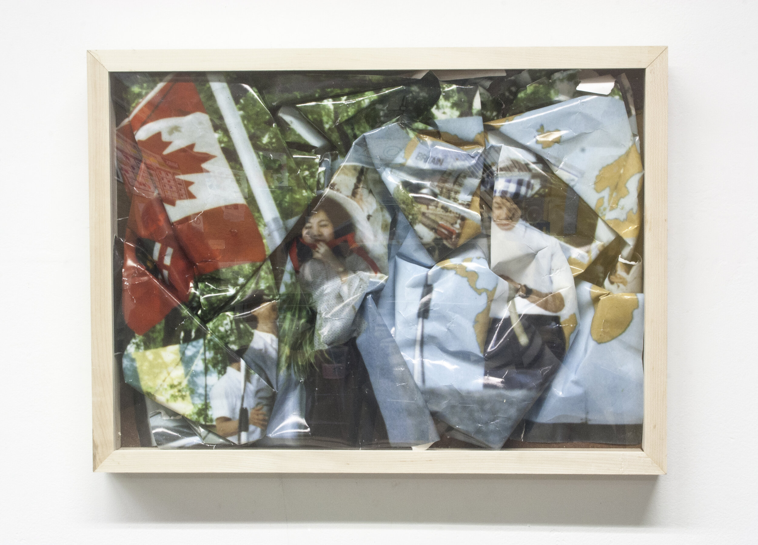 Fit Series (3/3),  digital inkjet print, wooden frame, 2015.