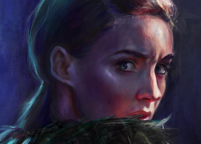 The Changeling - Rooney Mara Face Detail - Dina Blokhina