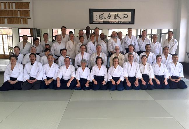 2015 Spring Seminar at Aikido of Westchester