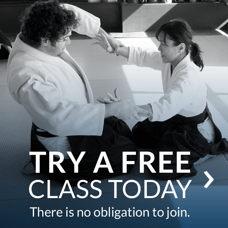 Try a free aikido class in White Plains, NY, Westchester