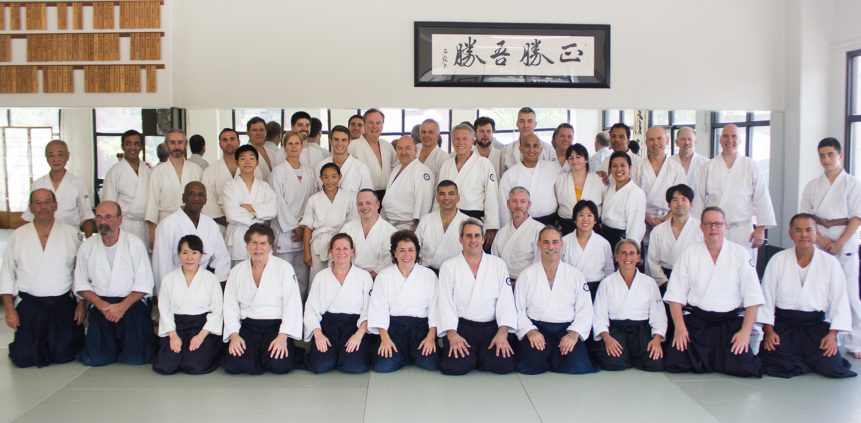 Pavlick Sensei's classes left us all inspired. Post class group picture taken 9/10/16 | Photo: Tamara Magnitsky
