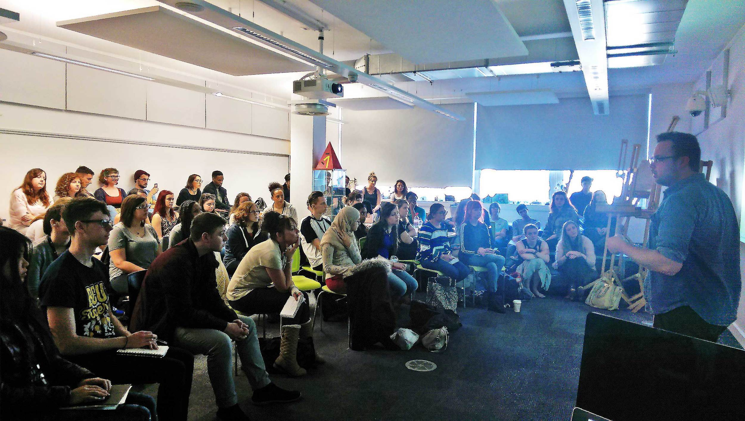 Presentation to first year students, Birmingham City University