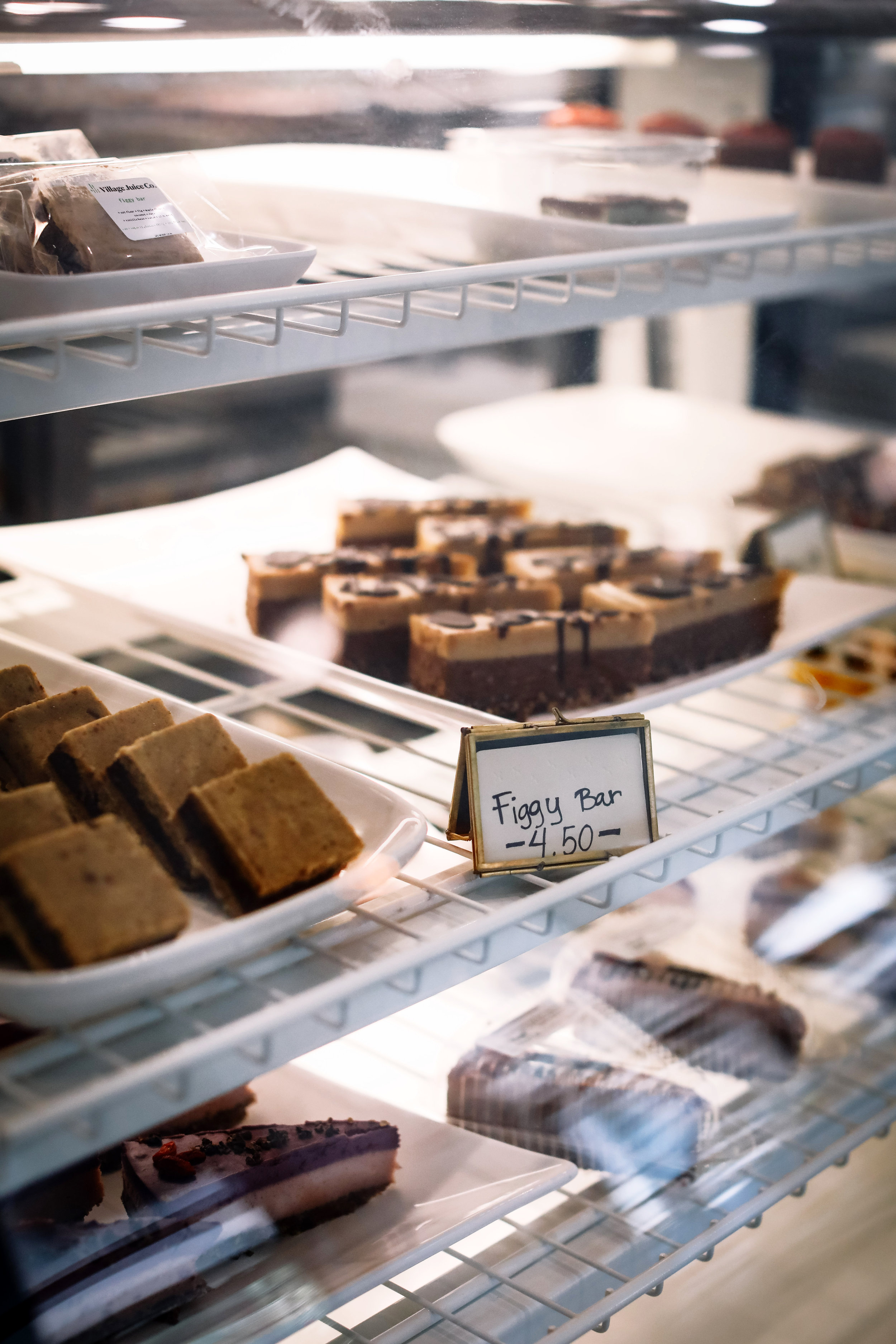 Make sure you snag a  Figgy Bar  in our display case, along with all of our other healthy desserts!   Photo: Lindley Battle Photography