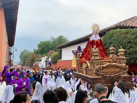 Procession for Holy Week