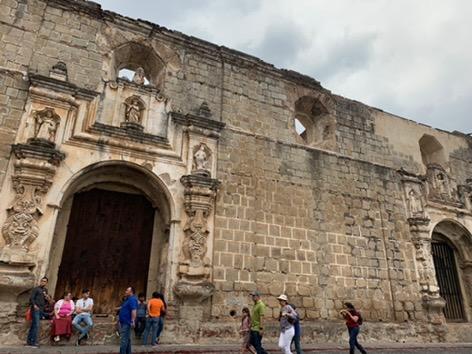 Facade of Convento Santa Clara