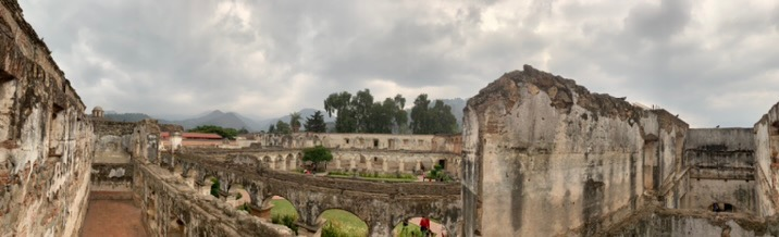 Top level of Convento Santa Clara