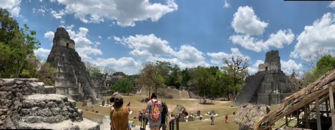 Main Plaza of Tikal