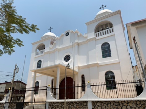 Church in Flores