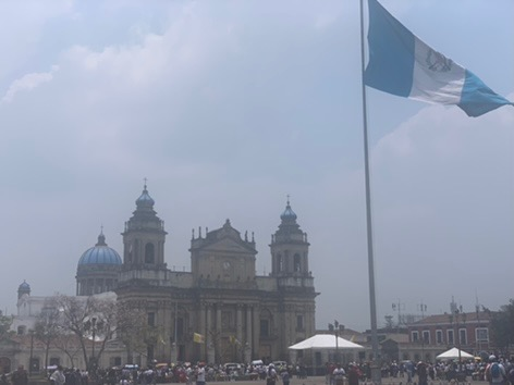 Central Park in Guatemala City