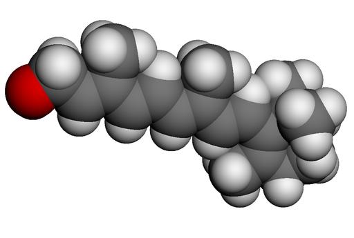 Modèle 3D de la Vitamine A by Totot's [CC0]