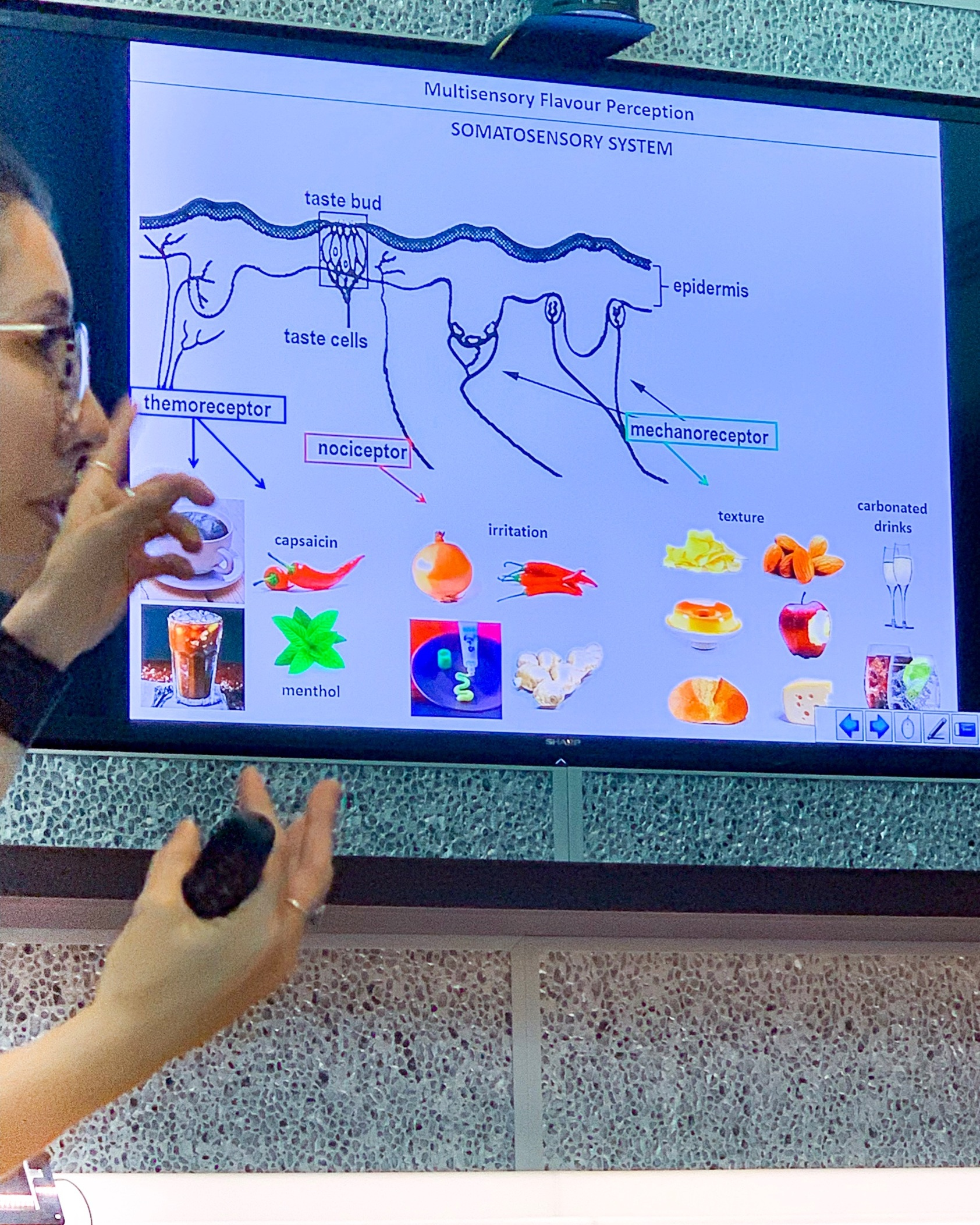 Dr. Fabiana Carvalho making really complicated things understandable