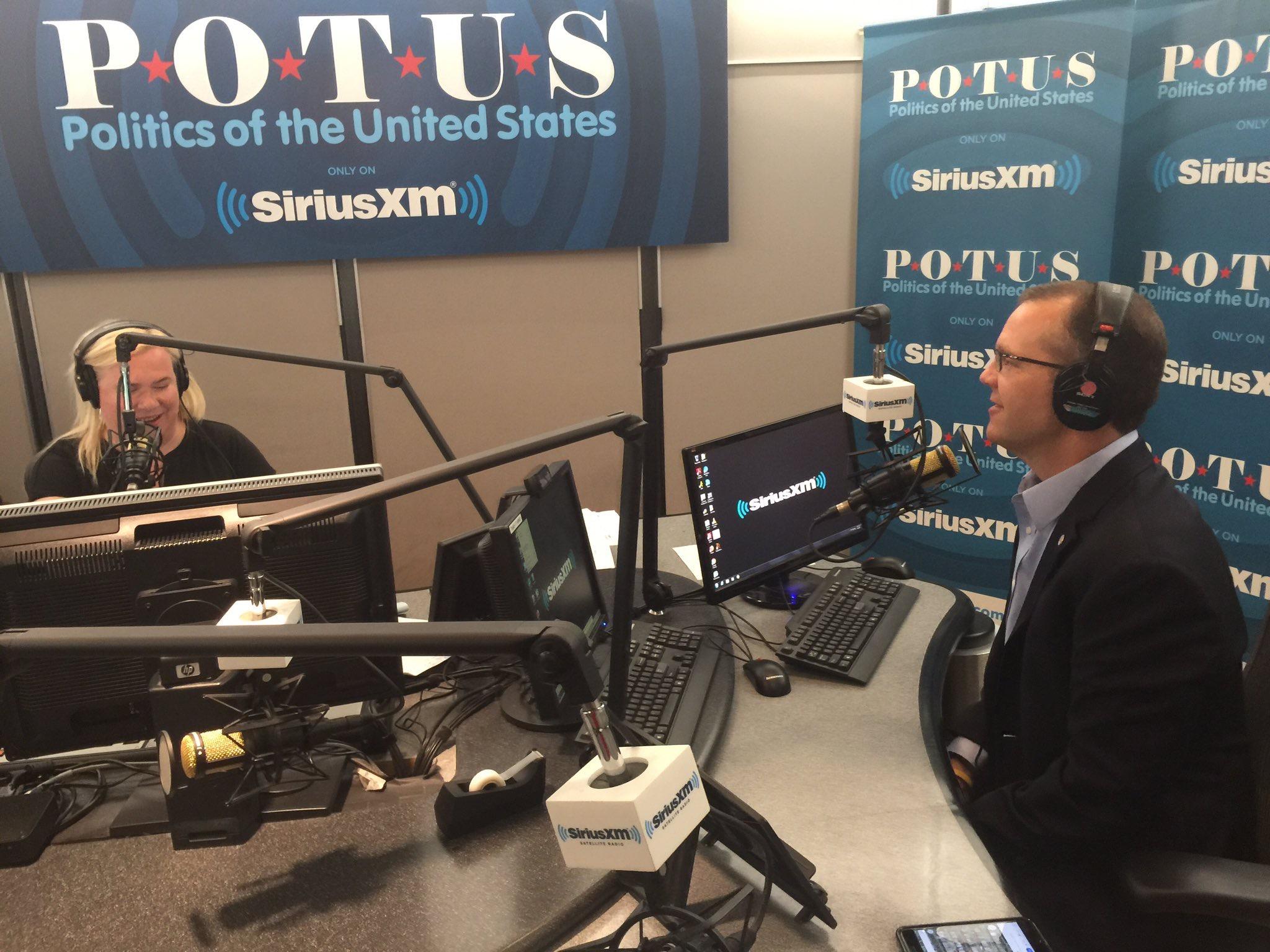 "Speaking in Washington with Julie Mason on her SiriusXM POTUS Channel program ""Press Pool."""