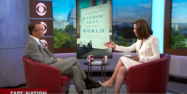 """The national debut of """"Window Seat on the World"""" with Margaret Brennan on her CBS News program """"Face the Nation."""""""