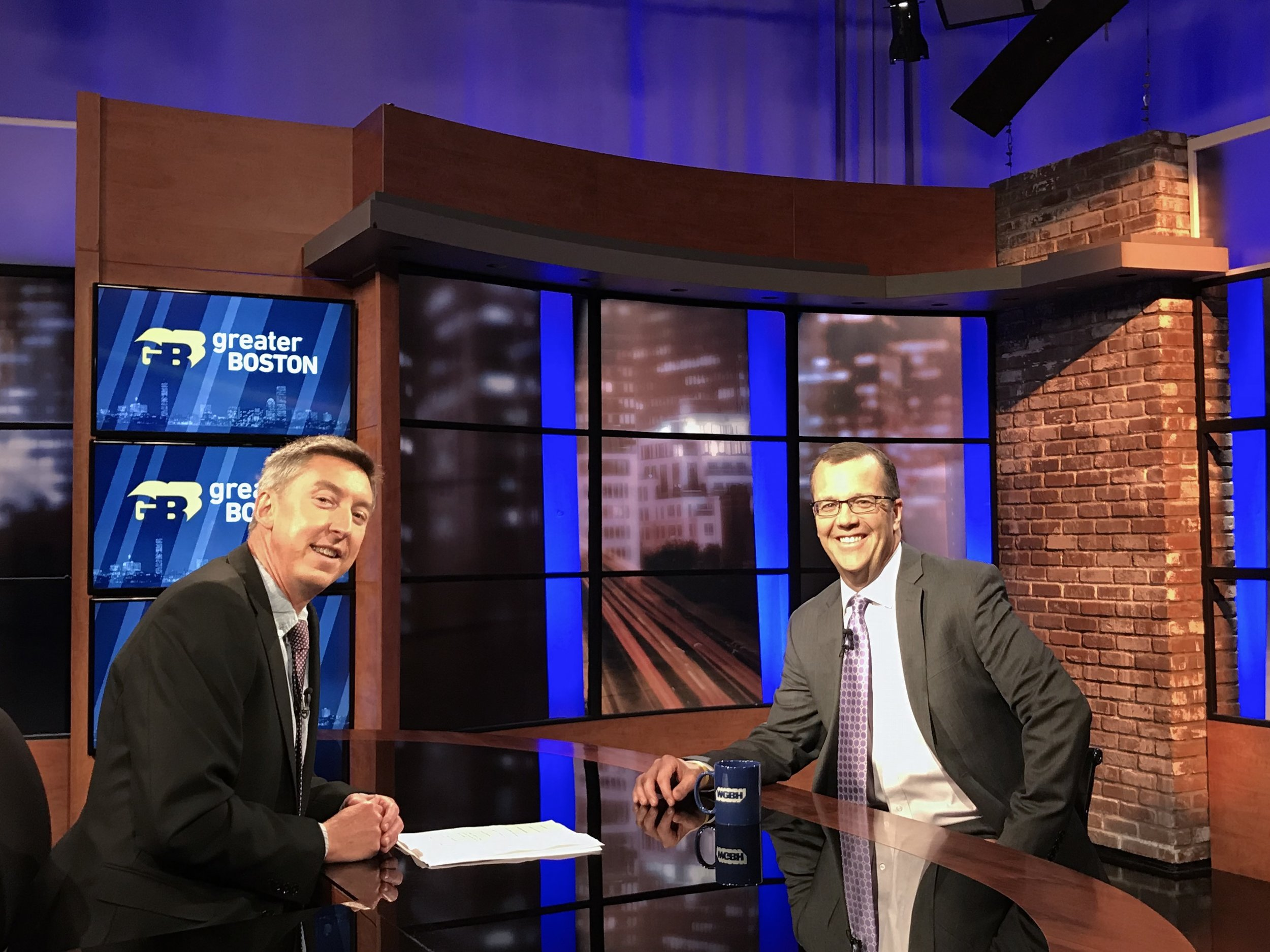"""Talking about diplomacy and the G7 Summit with Adam Reilly of WBGH's """"Greater Boston."""""""