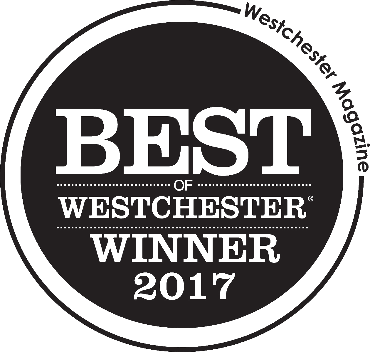 "The TaSH is recognized as a ""Best of Westchester"" by  Westchester Magazine."