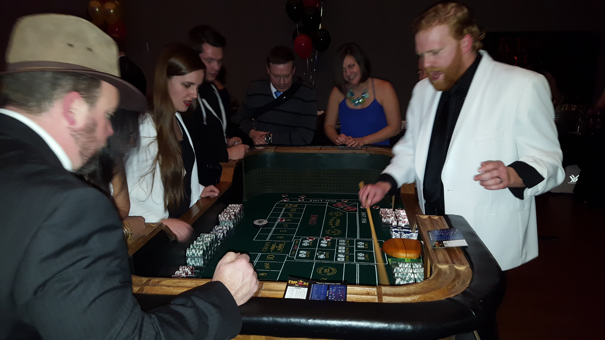 Small Sized Craps table
