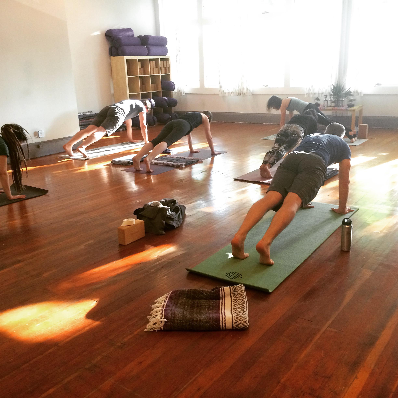 yoga, classes, berkeley, studio, vinyasa, hatha, downdog, flow