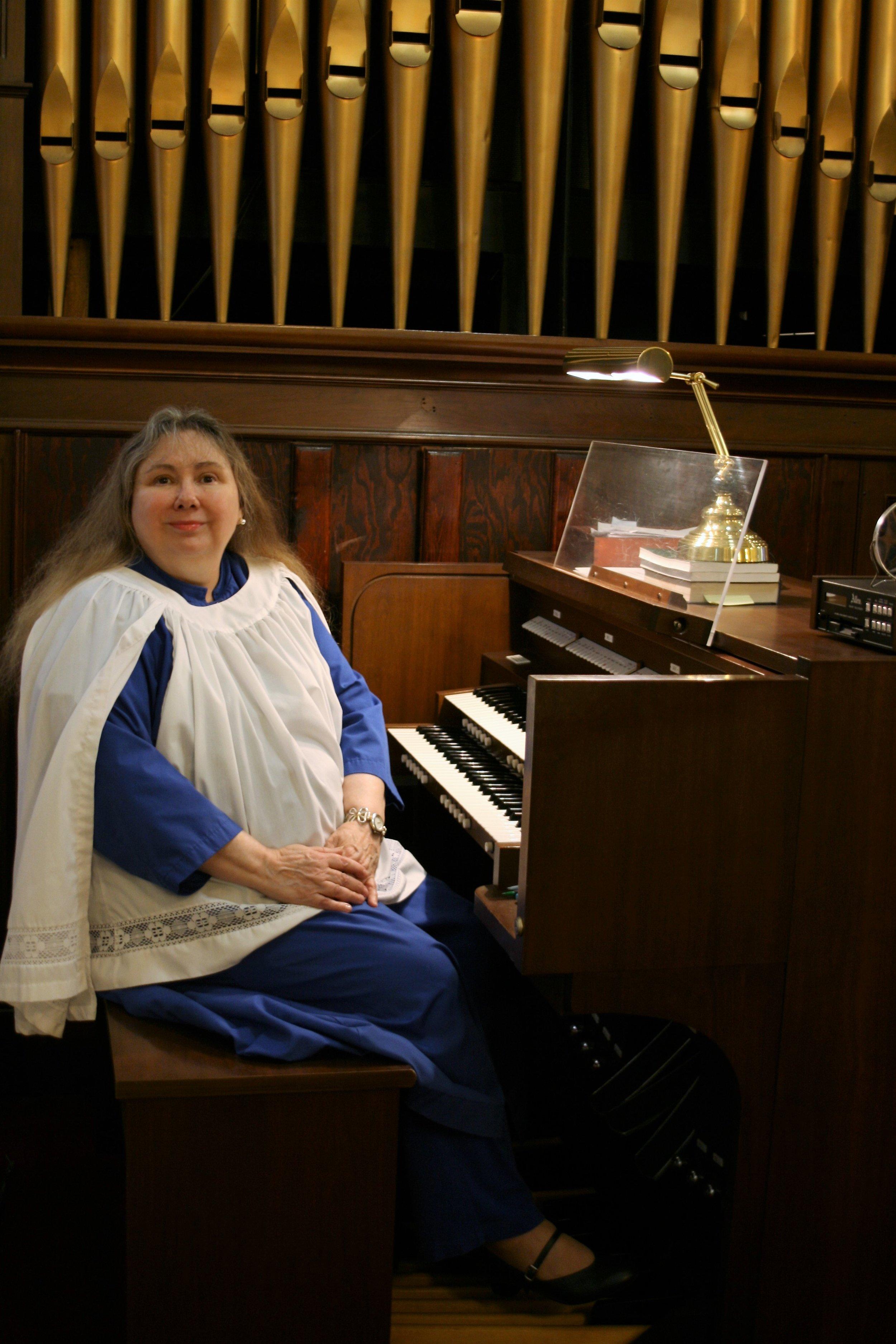Peggy Lacey Craig, Organist and Choir Director