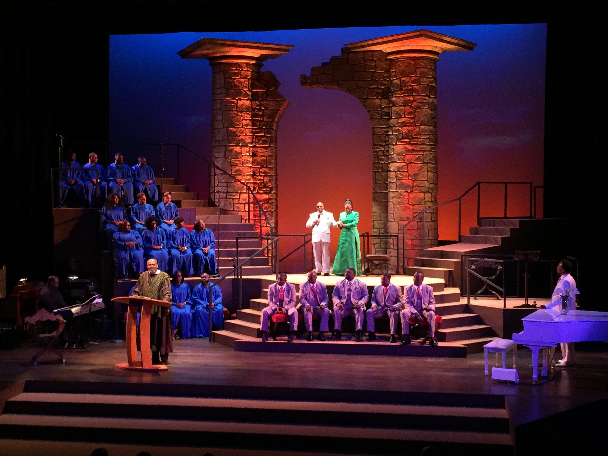 The Gospel at Colonus - Ebony Repertory Theatre