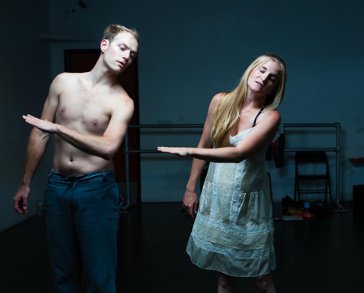 """Matt Carney and Samantha Ginn """"The Warriors Duet""""-2012"""