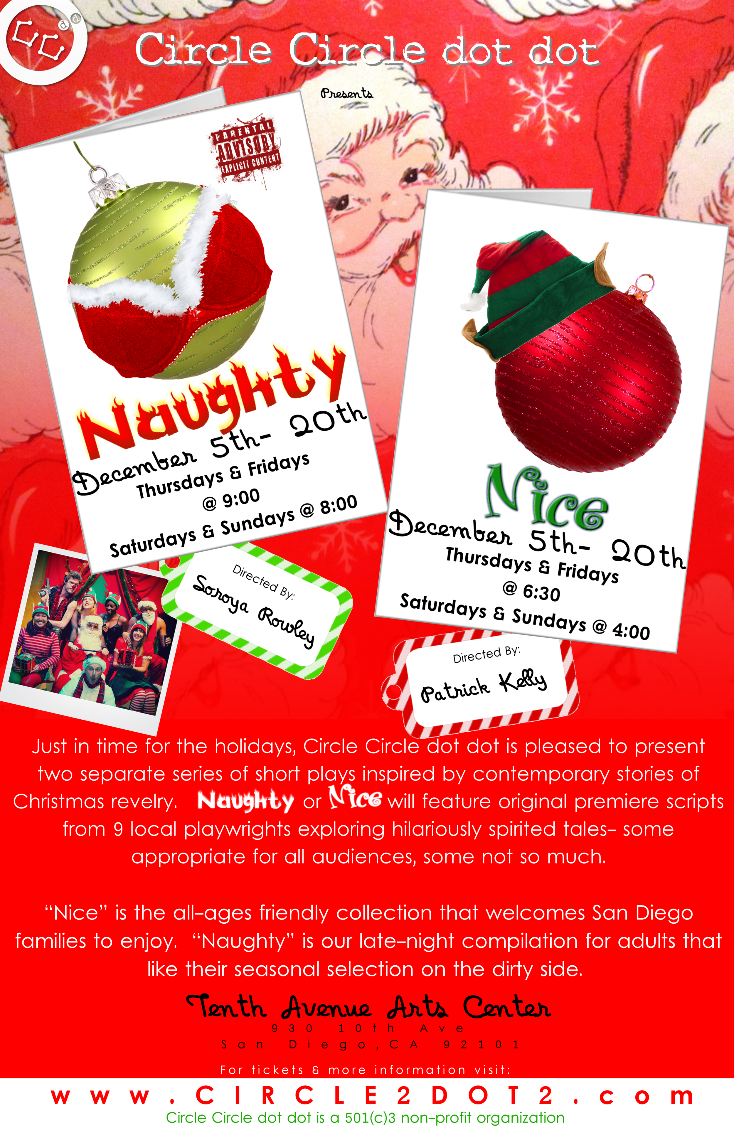 NAUGHTY or NICE *Extra Holiday Special Event