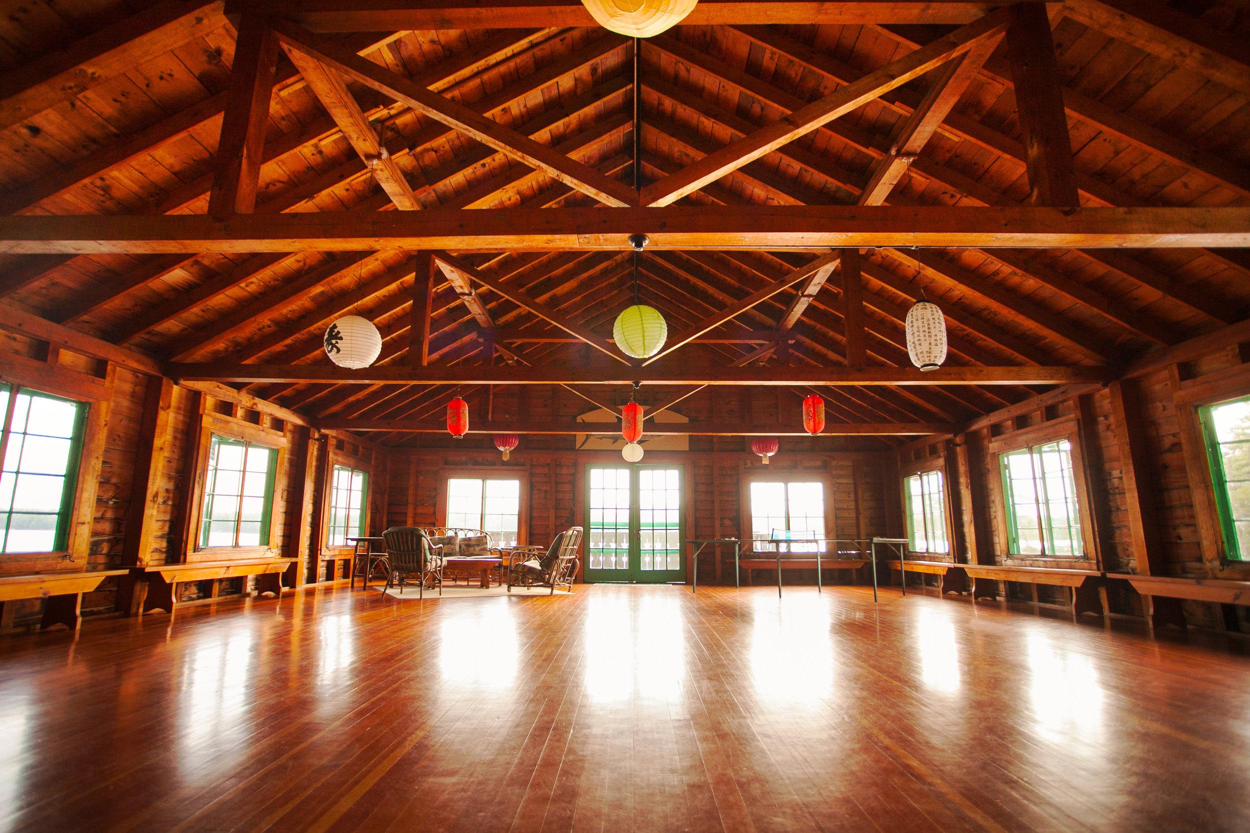 Ballroom over Lake