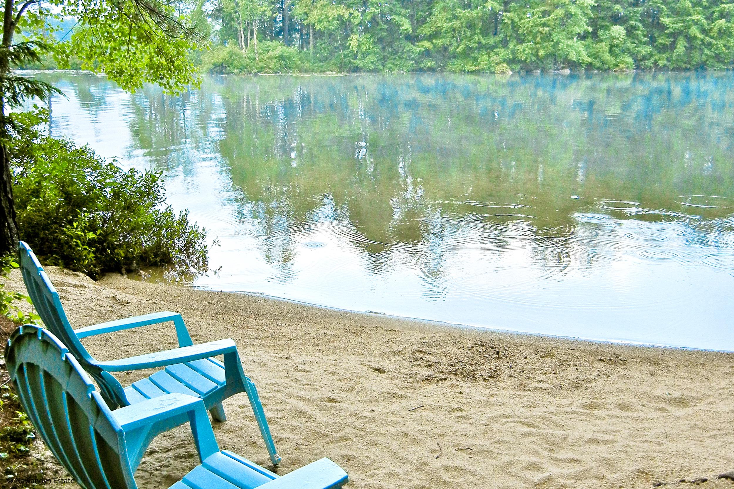 Nawandyn Estate's Secluded Cove Beach