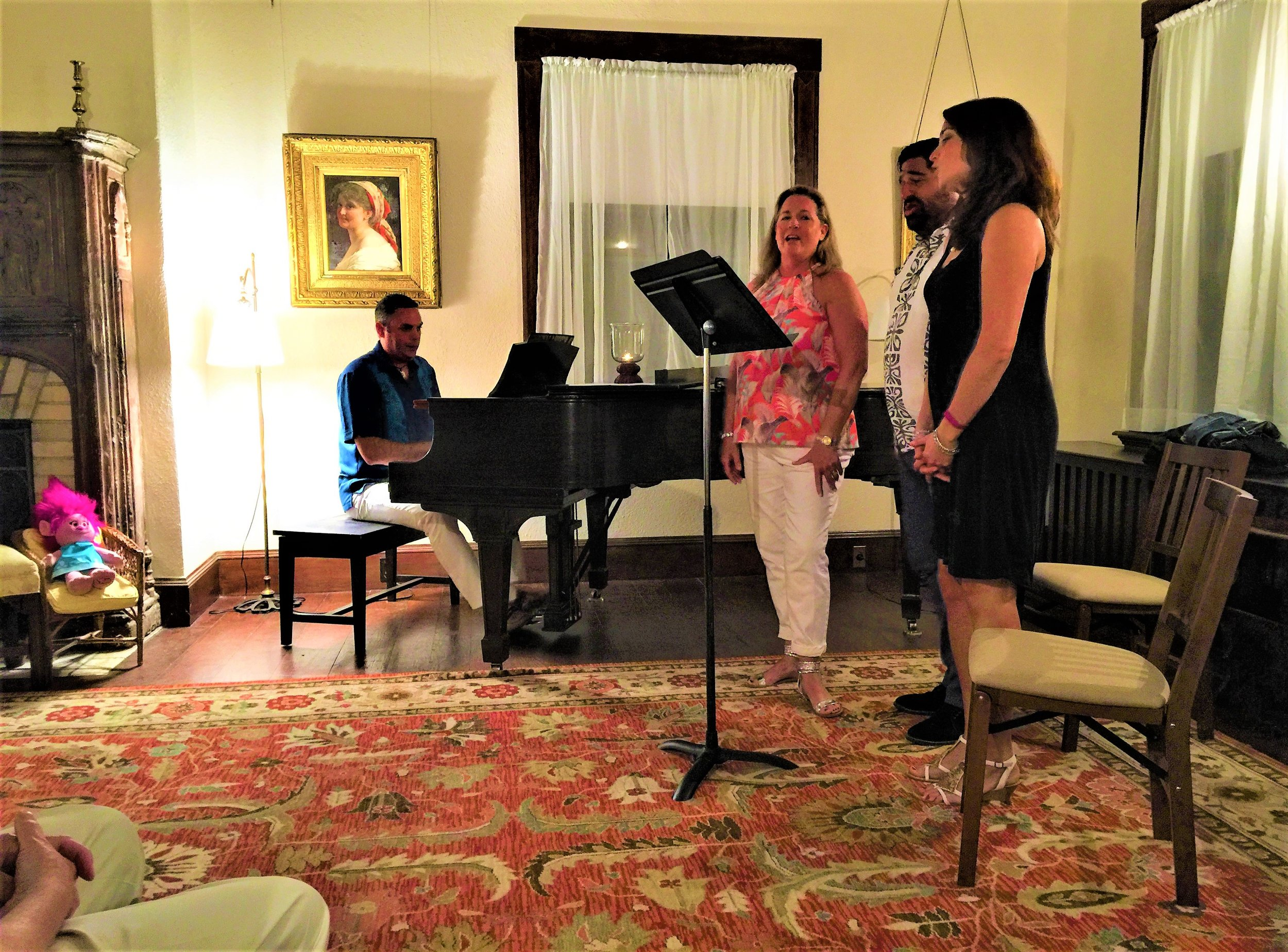 Singing in MH Living Room.JPG