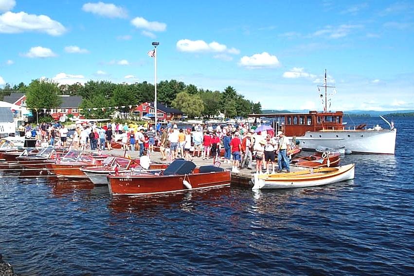 Antique Boat Show & Parade (Naples, ME)