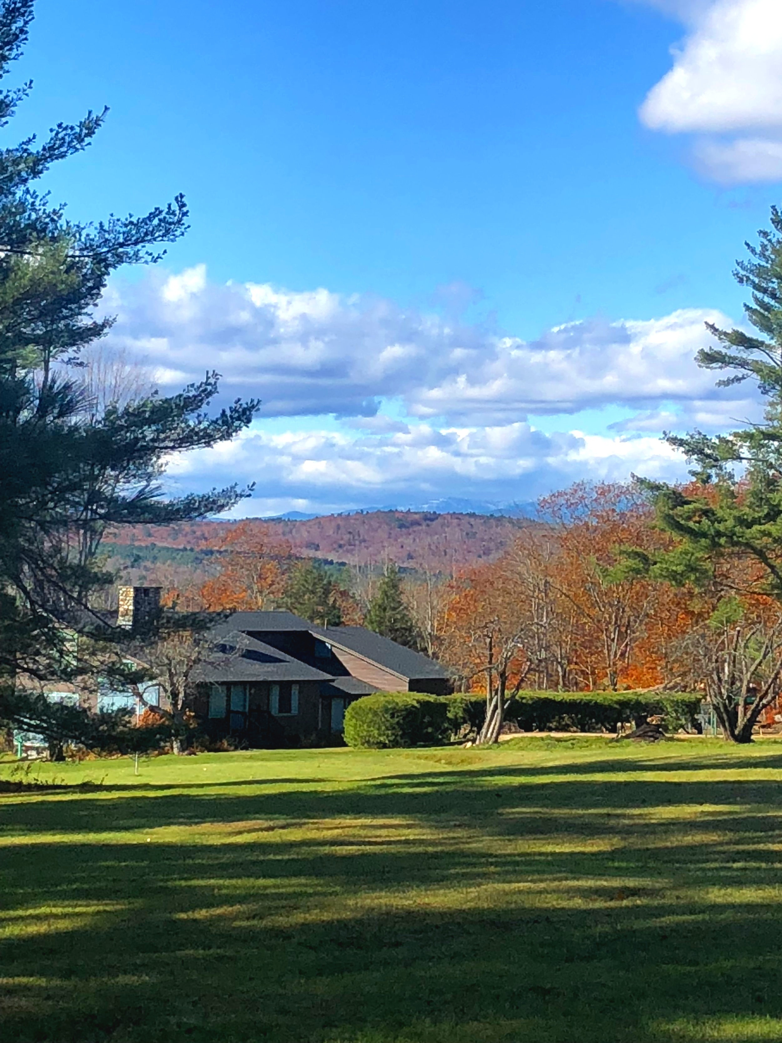 Guest House setting includes view of Mt. Washington