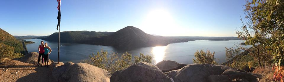 View of the Hudson from the top of Breakneck last fall.