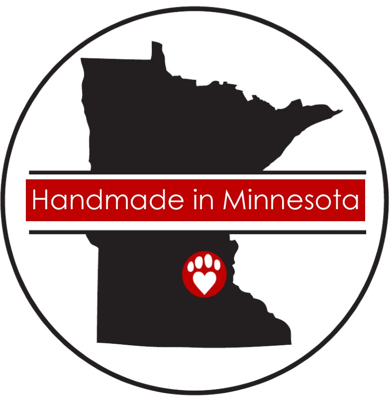 Our dog cookies and training treats are handmade in Minnesota with human grade ingredients.