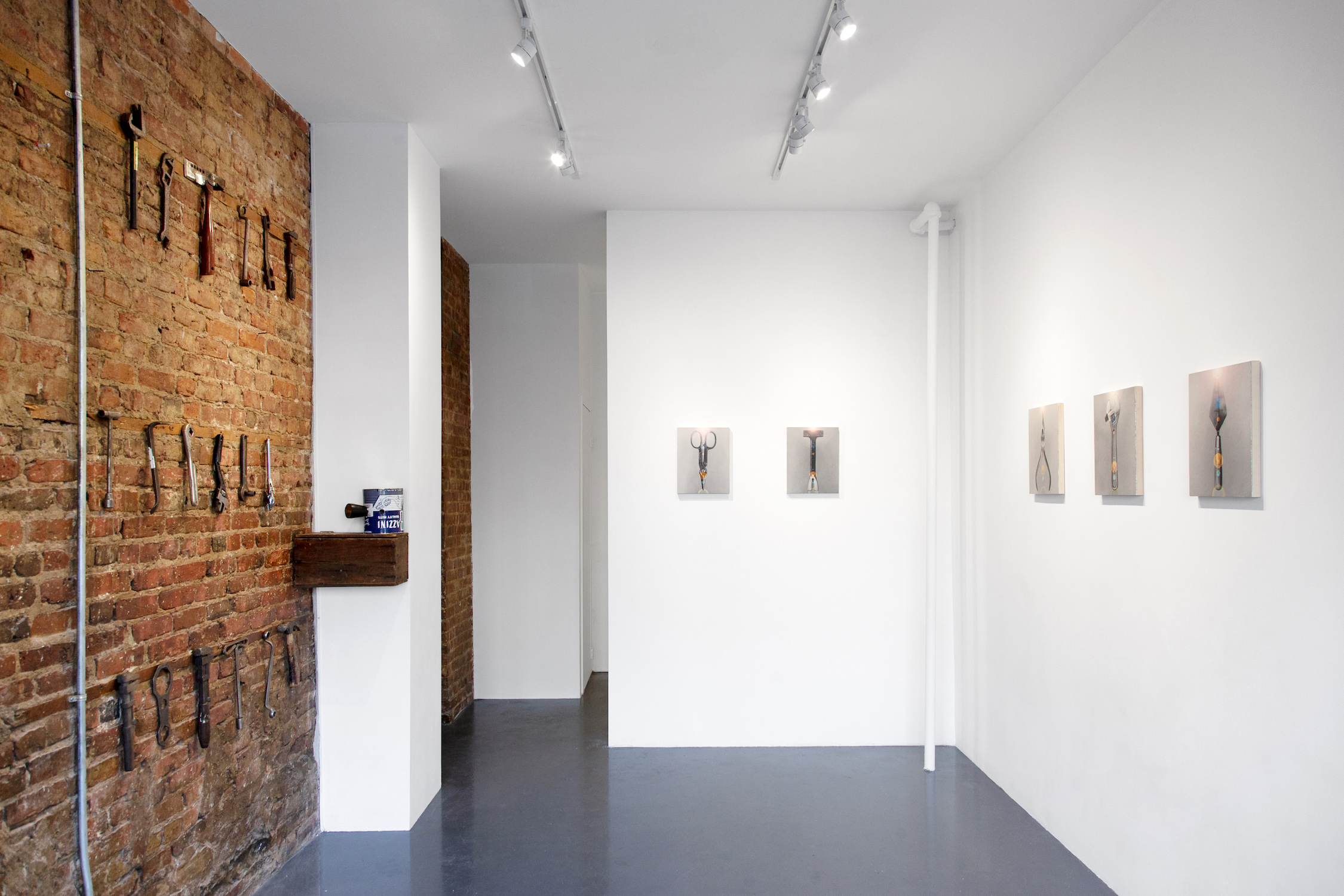 Installation View,  Material Ethereal , 2018