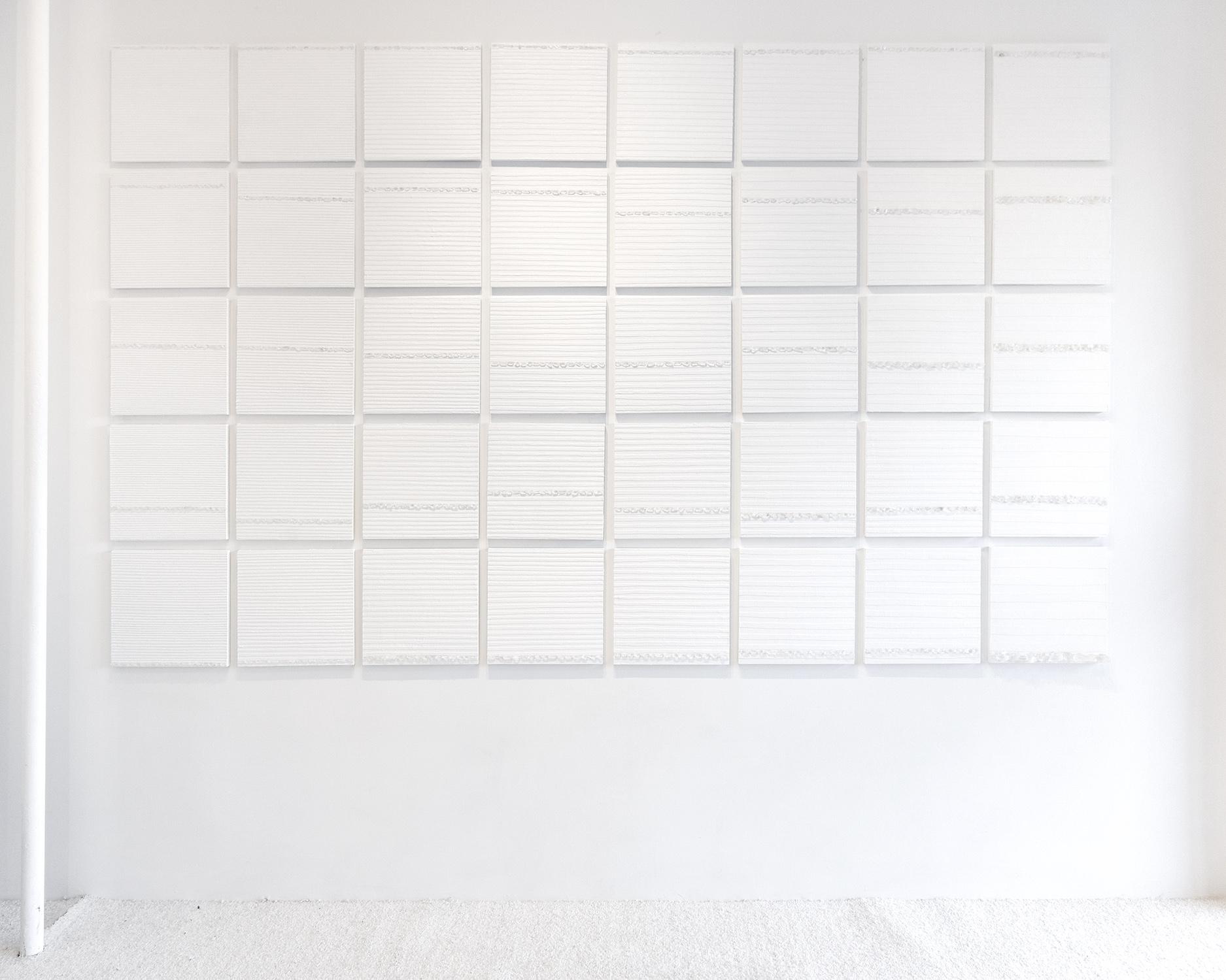 Installation view,  Crystal Cut Levitation , 2019
