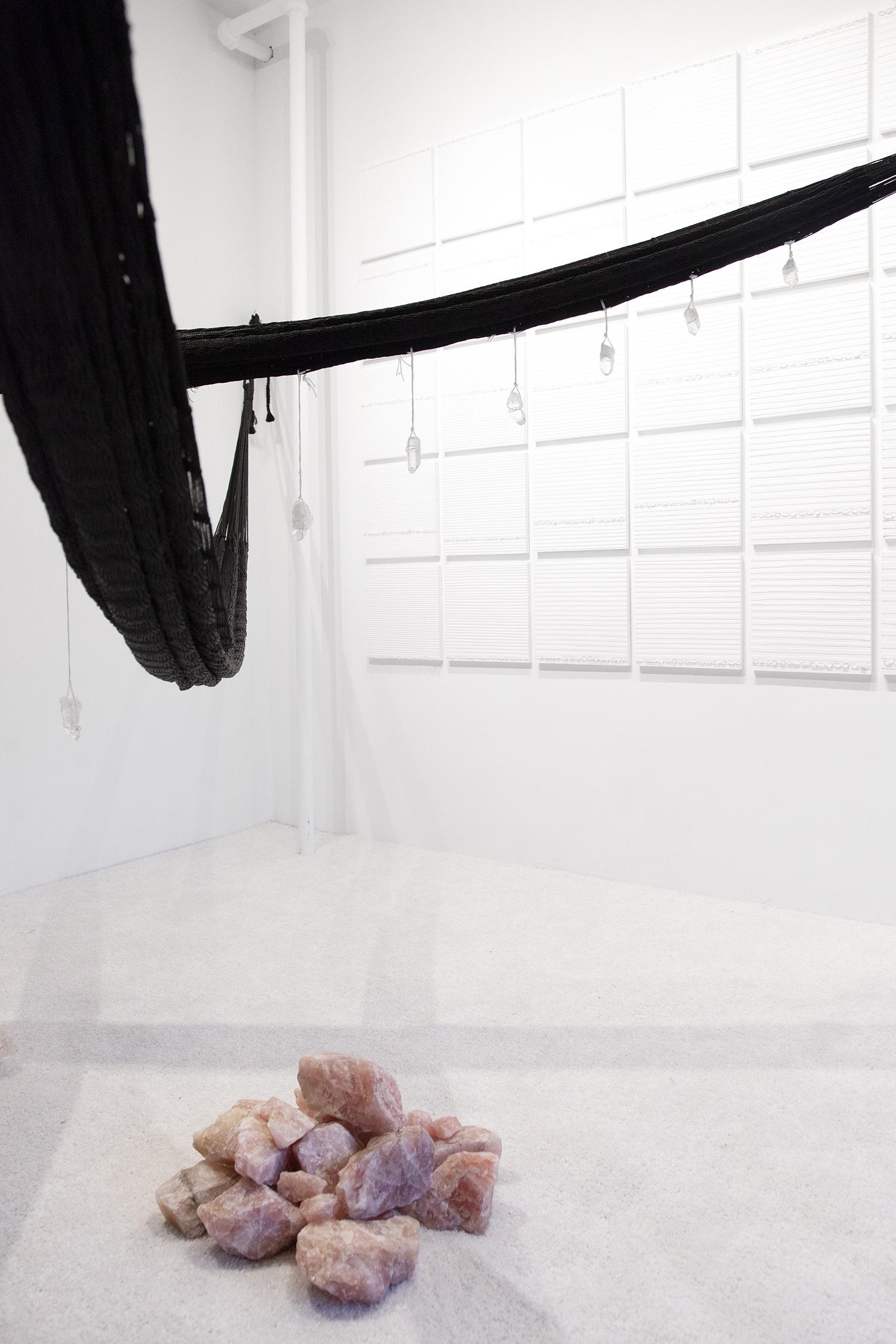 Crystal Cut Levitation  (detail), 2019