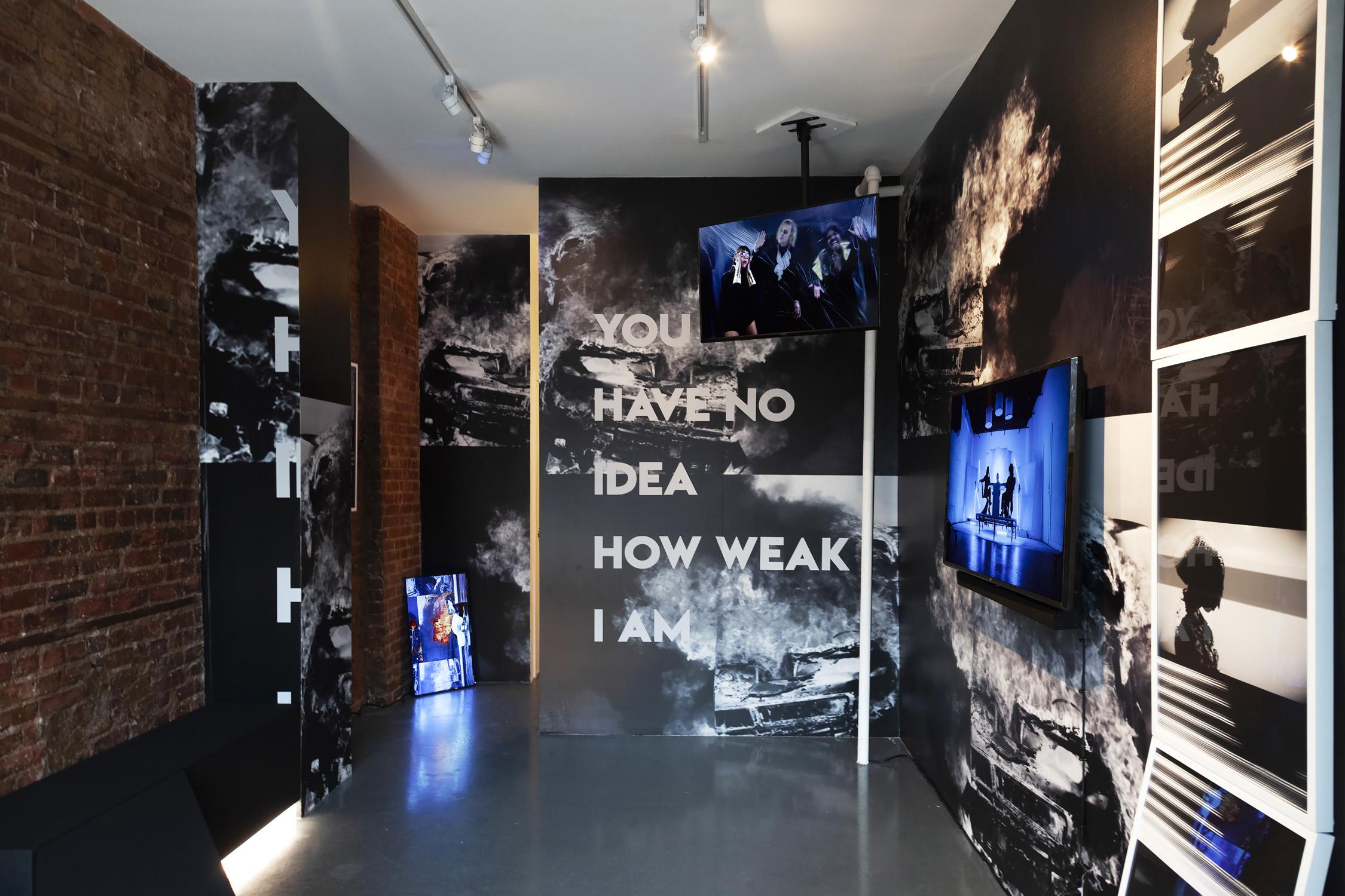 Michelle Handelman,  LOVER HATER CUNTY INTELLECTUAL,  Exhibition View, 4.18.19 - 5.26.19
