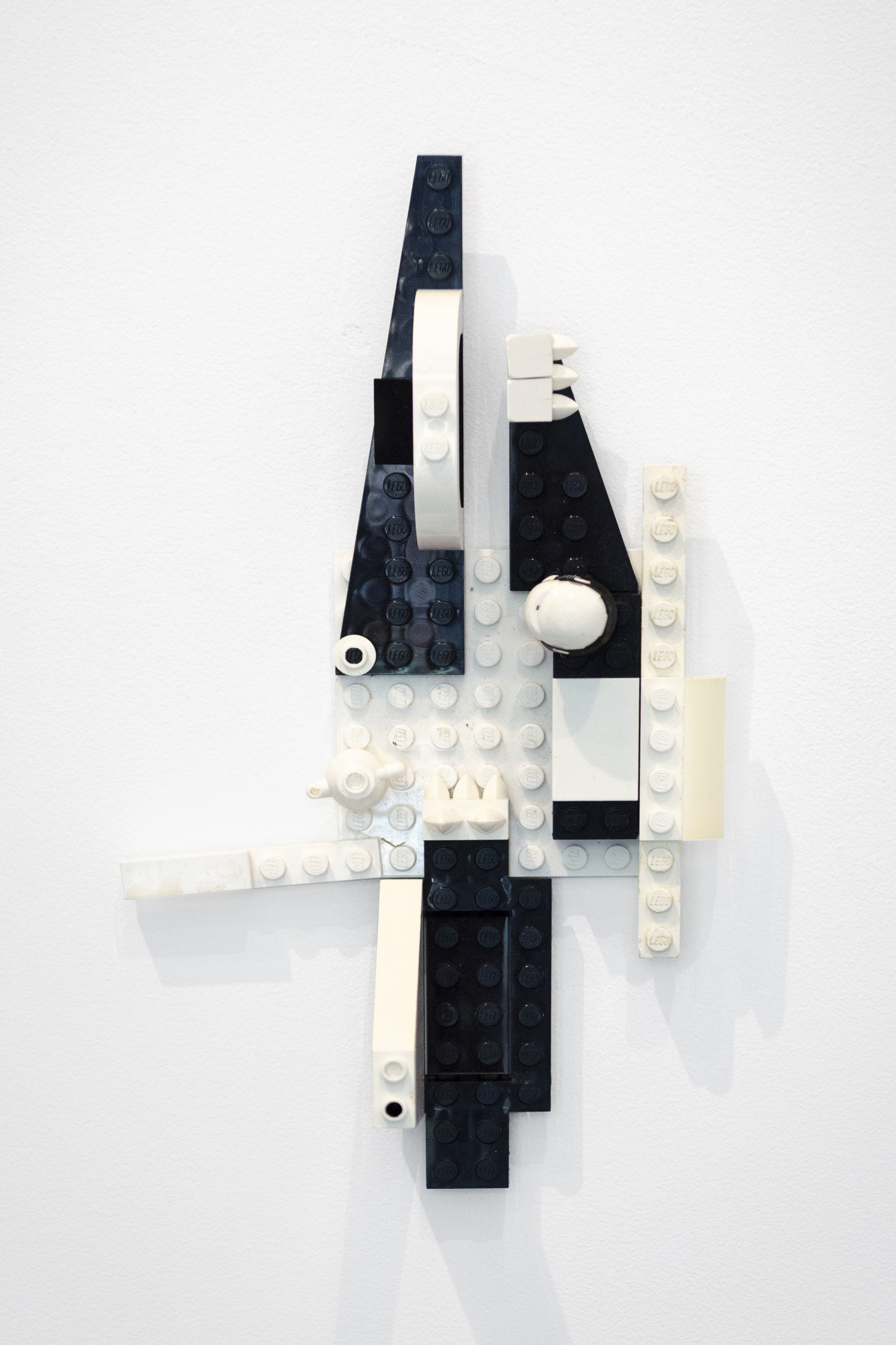 Marlowe Broomberg   Lego Painting #13 (from Lego Paintings Series) , 2019 Lego pieces 8 x 3 x 2.5 inches (20.5 x 7.5 x 6 cm) Unique edition  Starting bid: $20