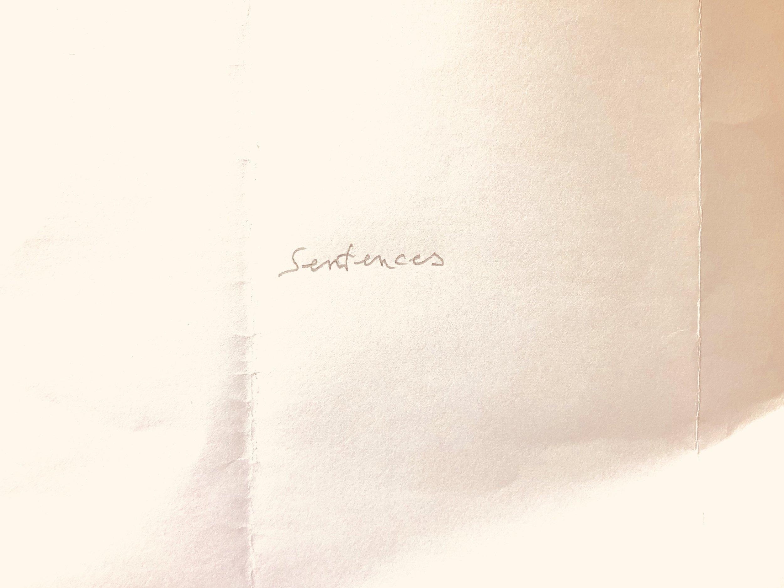 JAŠA,  Sentences , 2019