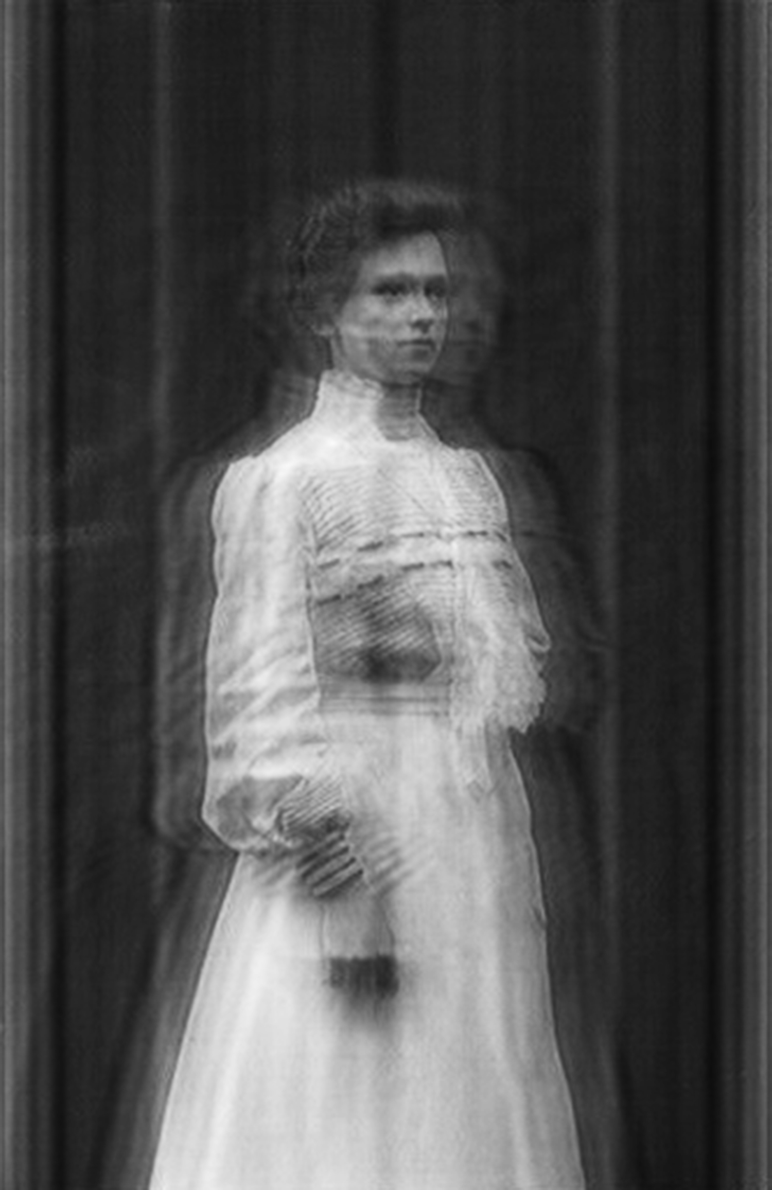 Ornella Fieres,  The Essence of a Moment/ Inverse Fourier #13 , 2019, C-Print in wooden frame, 18.11 x 25.19 inches framed (46 x 63.98 cm), Edition of 3, +1AP