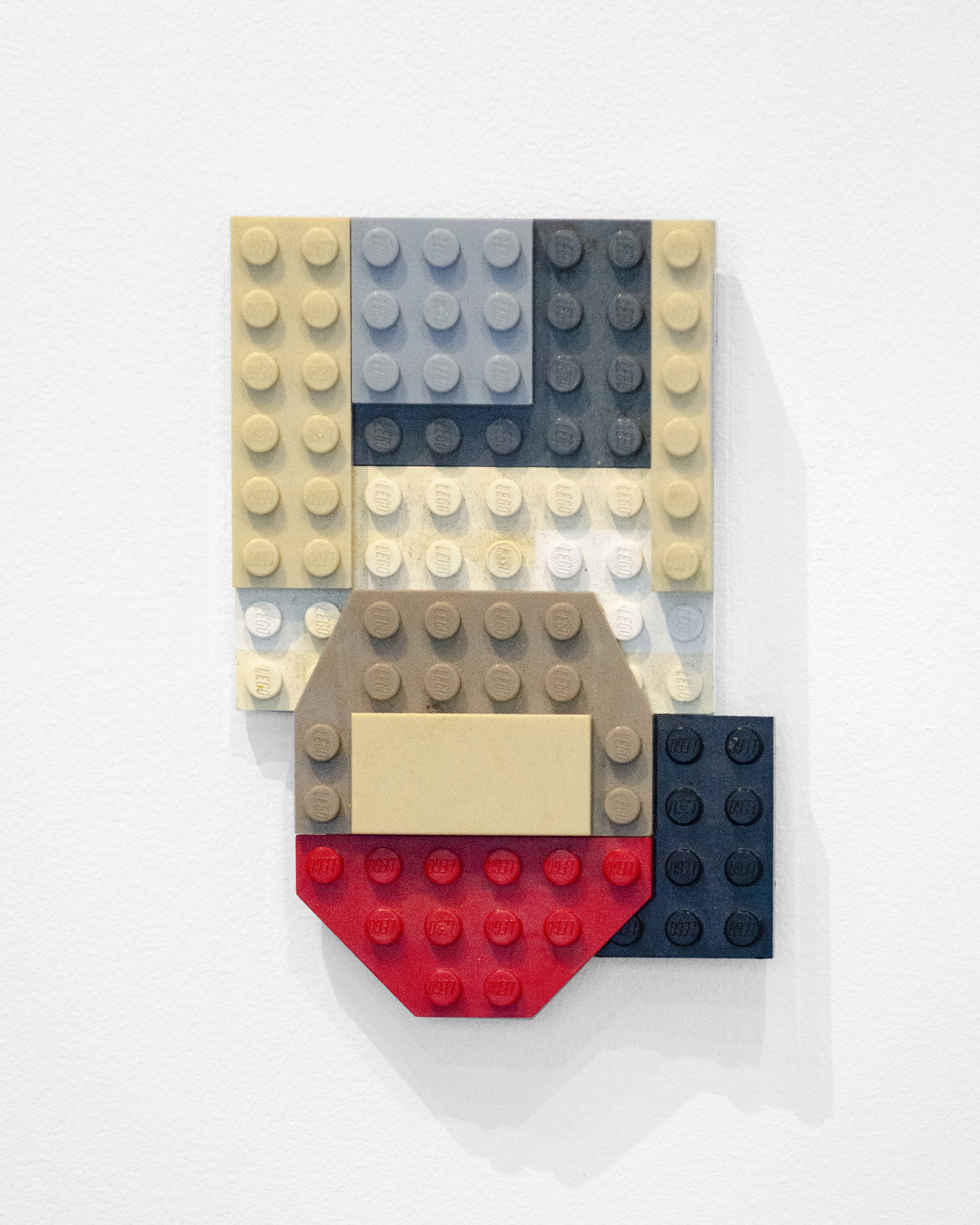 Marlowe Broomberg,  Lego Painting #1 (from Lego Paintings Series) , 2019 Lego pieces, 4 x 3 x 1 inches (10 x 7.5 x 2.5 cm), Unique edition