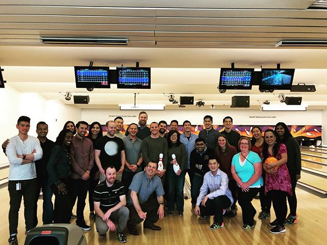 "Come on in! Be like PG&E and party at the Pin Up. Located in the Yerba Buena Bowling Center"" #SF #Soma #Fun #Food #Drinks #Teambuilding"